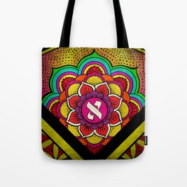 Sacred Geometry for your daily life - ALEPH KYBALION EYE Tote Bag