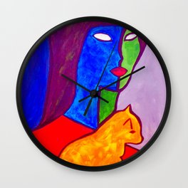 Watchful Eye #society6 #decor #buyart Wall Clock