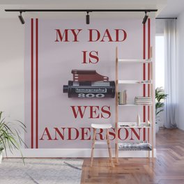 Wes Anderson Wall Mural