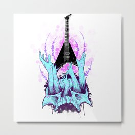 Blessed be the Rhoads by Fred Gonzalez Metal Print
