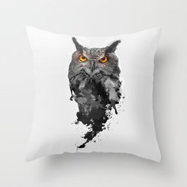 Be Watchful Throw Pillow