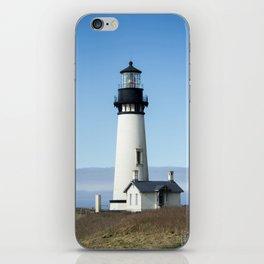 yaquina head lighthouse iPhone Skin