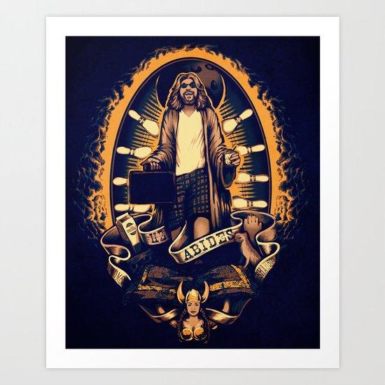 He Abides Art Print