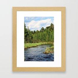 Sawyer / Jessie Framed Art Print