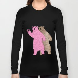 Build A Bigger Bear, Catch a Load of Salmon Long Sleeve T-shirt