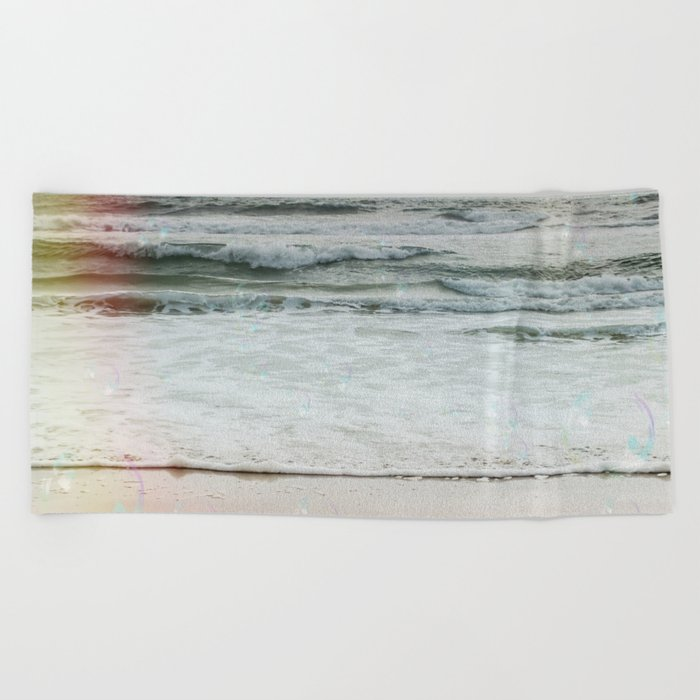 Beach Bubbles Beach Towel
