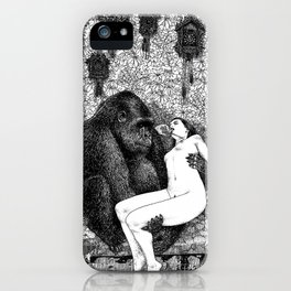 asc 686 - La pitié (Time is out of joint) iPhone Case