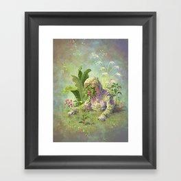 Planted Astronaut Framed Art Print