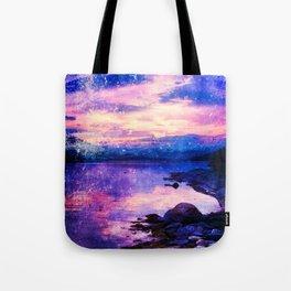 Abstract Sunburst Beach Tote Bag
