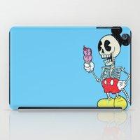 mickey iPad Cases featuring Mickey Bones by Alejandro Giraldo