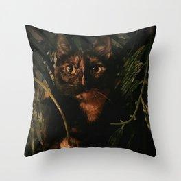 mufasajungle Throw Pillow