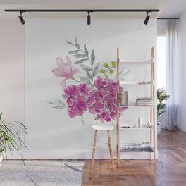 Malvon bouquet Wall Mural