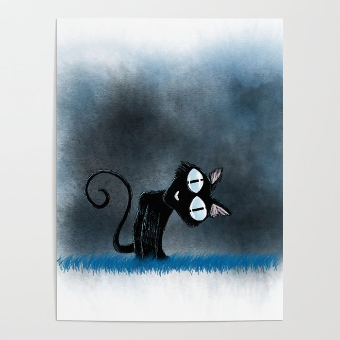 Coraline Wuss Puss Poster By Hollydoesart Society6