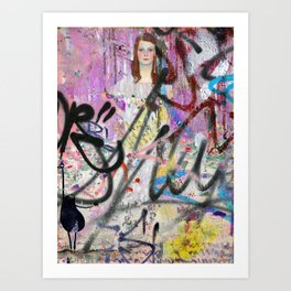covert and discovered history 111 Art Print