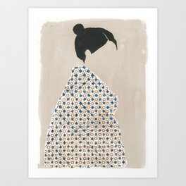 Holly Cross Art Print
