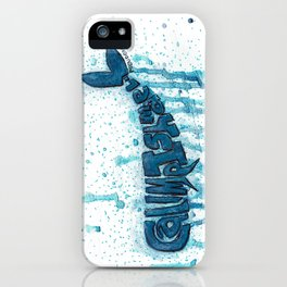 CALL ME ISHMAEL  iPhone Case