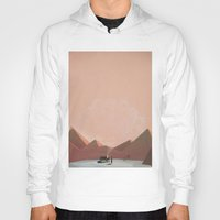 alone Hoodies featuring alone by Amit Shimoni