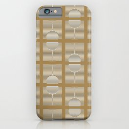 Golden Celebration iPhone Case