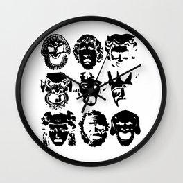 Tragedy Wall Clock