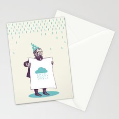 It's raining. Stationery Cards