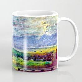 From Sunriver: Mt. Bachelor (Salt Watercolor) Coffee Mug