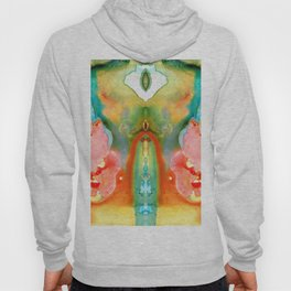 The Goddess - Abstract Art By Sharon Cummings Hoody