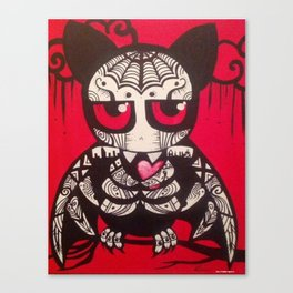 "Bat ""Murcielago""  Canvas Print"