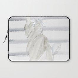 Lady Liberty • Americana Sepia Laptop Sleeve