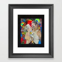 Volitile Contagion  Framed Art Print