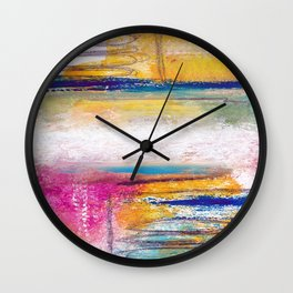 INVITING JOY Wall Clock