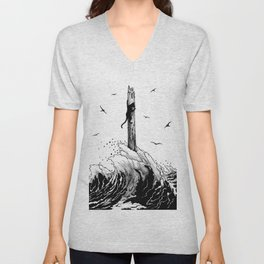 Flood Unisex V-Neck