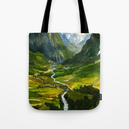 The Hidden Valley (original) Tote Bag