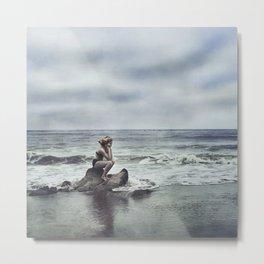 Lonely Sea Sprite Metal Print