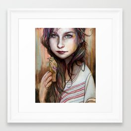 Circe Framed Art Print