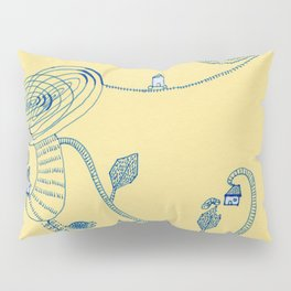 sptial garen Pillow Sham