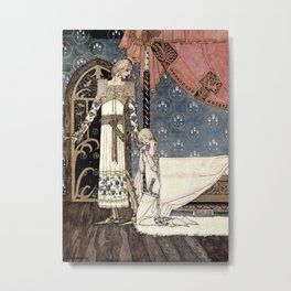 """Show Me the Way"" Kay Nielsen Fairytale Illustration Metal Print"