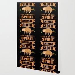 Sloth Is My Spirit Animal Tired Sloth Wallpaper