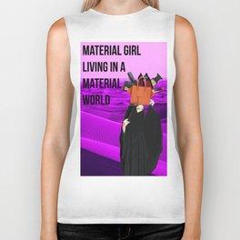 material girl Biker Tank