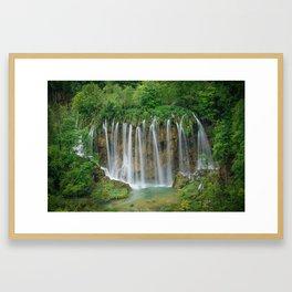 Angel Hair in Croatia Framed Art Print