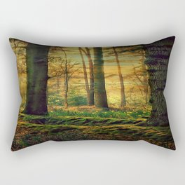 Through the woods Rectangular Pillow