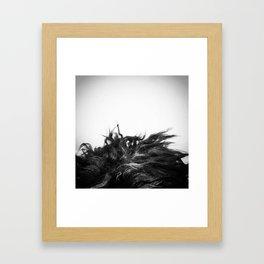 Labradoodle Hair Framed Art Print