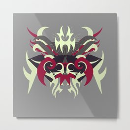 Abstraction Thirty Raijin Metal Print