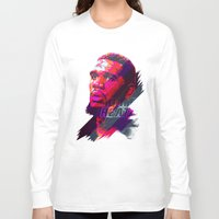 greg guillemin Long Sleeve T-shirts featuring GREG ODEN MIAMI HEAT by mergedvisible
