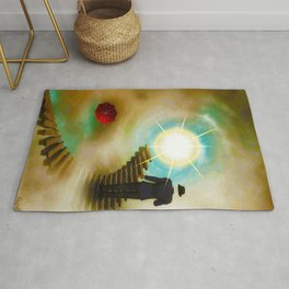 Stairway To The Sun (Painting) Rug