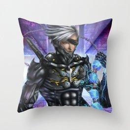 Raiden MGR:R Throw Pillow