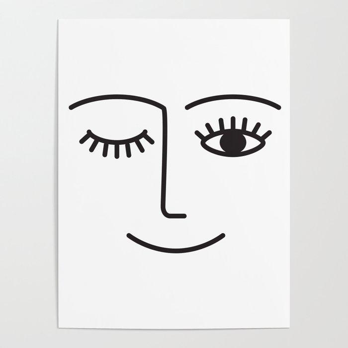 Wink Poster