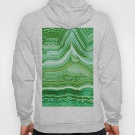Agate Crystal Green Hoody