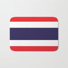 Thailand Flag Bath Mat