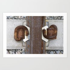 track knot Art Print