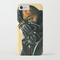 bane iPhone & iPod Cases featuring BANE by csmithart